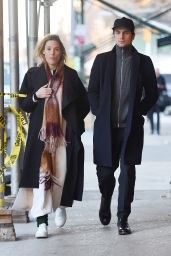 Vicky Krieps Is seen out in Manhattan