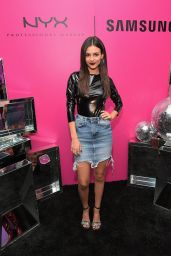 Victoria Justice At NYX Professional Makeup and Samsung VR Launch Party in LA