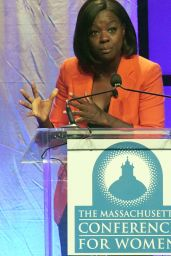 Viola Davis At Massachusetts Conference for Women 2017 at the Boston Convention Center in Boston