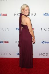 Whitney Bowers At The Los Angeles Premiere of Hostiles, at Samuel Goldwyn Theater