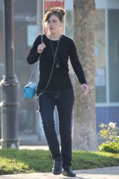 Zooey Deschanel Out and about in Los Angeles