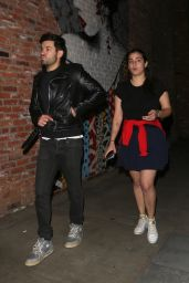 Alanna Masterson Exits a late bite at TAO in Hollywood