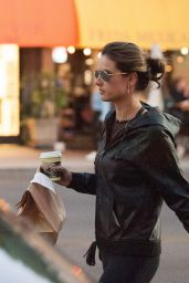 Alessandra Ambrosio Drops by the Urth Cafe in Beverly Hills