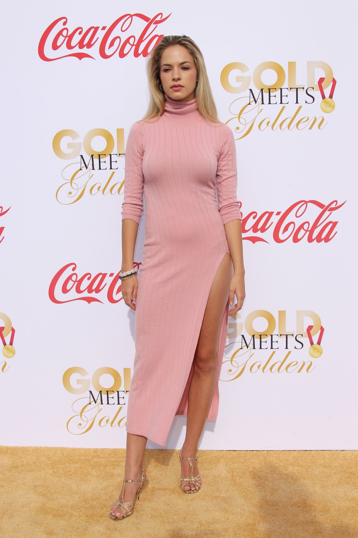 Alexis Knapp At 5th Annual Gold Meets Golden Awards In La