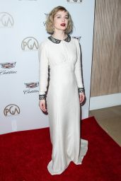Alison Sudol At Producers Guild Awards 2018 in Beverly Hills
