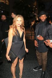 Allison Holker Outside the Black Panther Premiere in LA