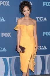 Amber Stevens West At Fox All-Star Party at 2018 Winter TCA Tour in Pasadena
