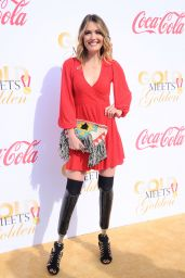 Amy Purdy At 5th Anniversary of Gold Meets Golden at The House On Sunset in West Hollywood