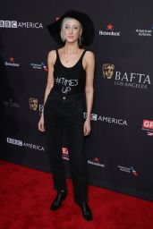 Andrea Riseborough At The BAFTA Los Angeles Tea Party at Four Seasons Hotel in Beverly Hills