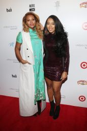 Angela Simmons At Launch of Urban Skin Rx at Target stores, New York City