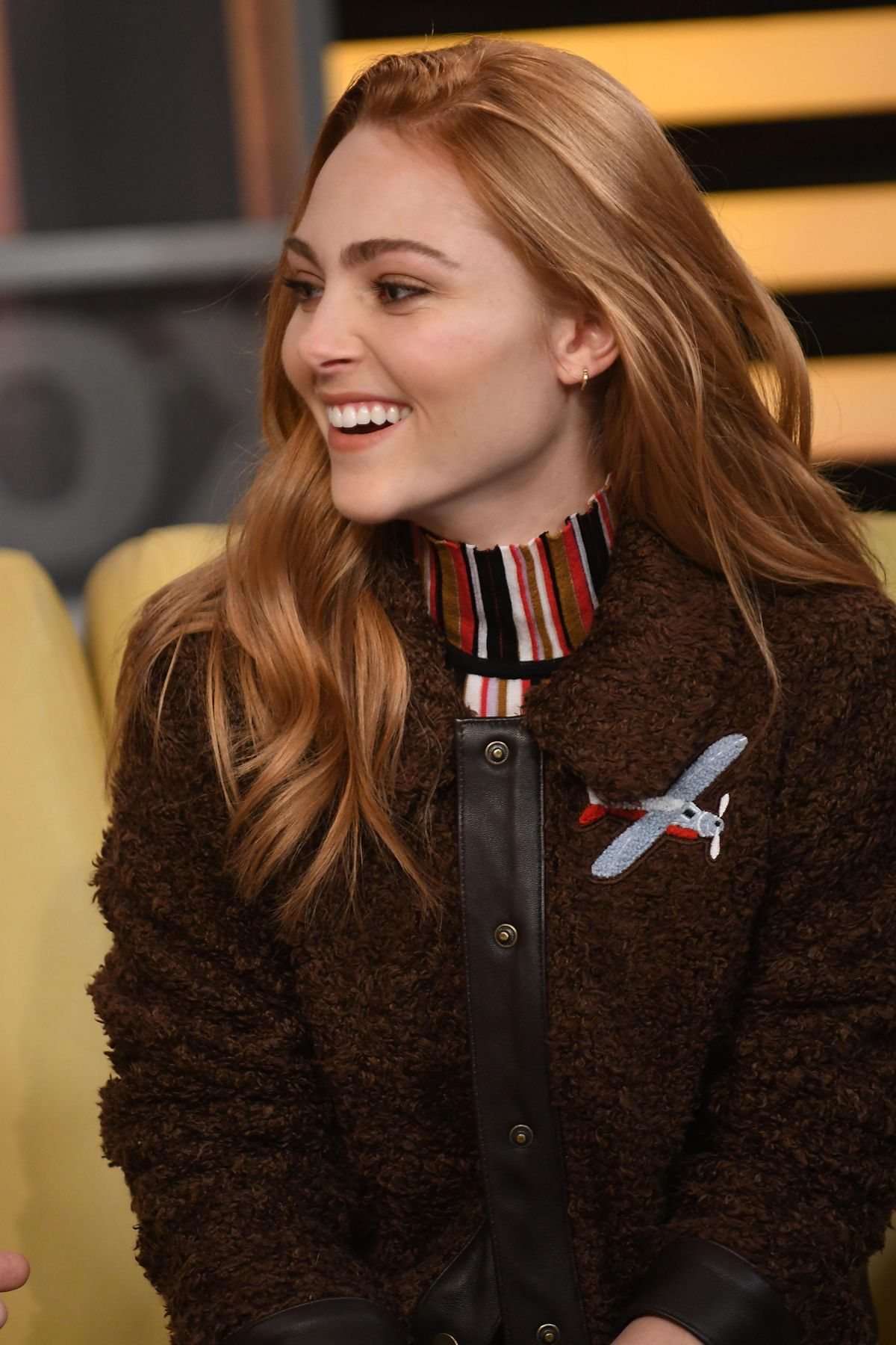 AnnaSophia Robb At 'Good Day New York' in NYC - Celebzz
