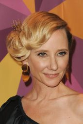 Anne Heche At InStyle & Warner Bros Golden Globes After Party in Los Angeles