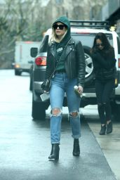 Ashley Benson Leaving her apartment in New York City