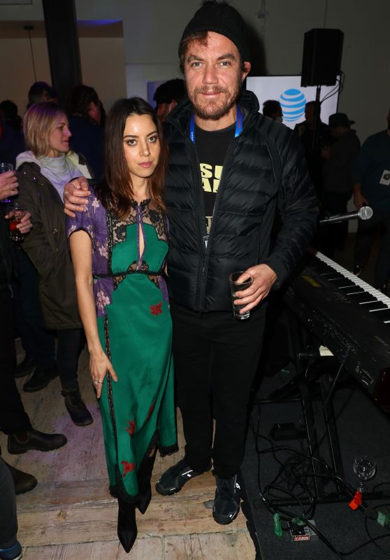 Aubrey Plaza At DIRECTV Lodge Presented By AT&T during Sundance Film Festival in Park City
