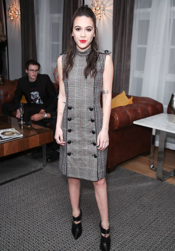Bea Miller At Wolk Morais Collection 6 Fashion Show at The Hollywood Roosevelt Hotel in Los Angeles