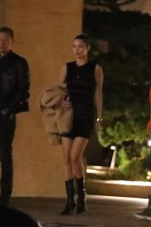 Bella Hadid Leaving Nobu in Malibu