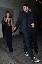 Bella Hadid Leaving the Delilah club in West Hollywood