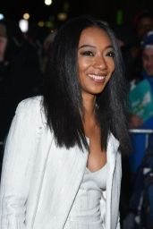 Betty Gabriel Seen arriving at The National Board of Review Annual Awards Gala in New York City