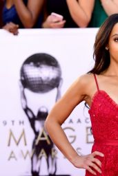 Bianca Lawson At 49th NAACP Image Awards in Pasadena