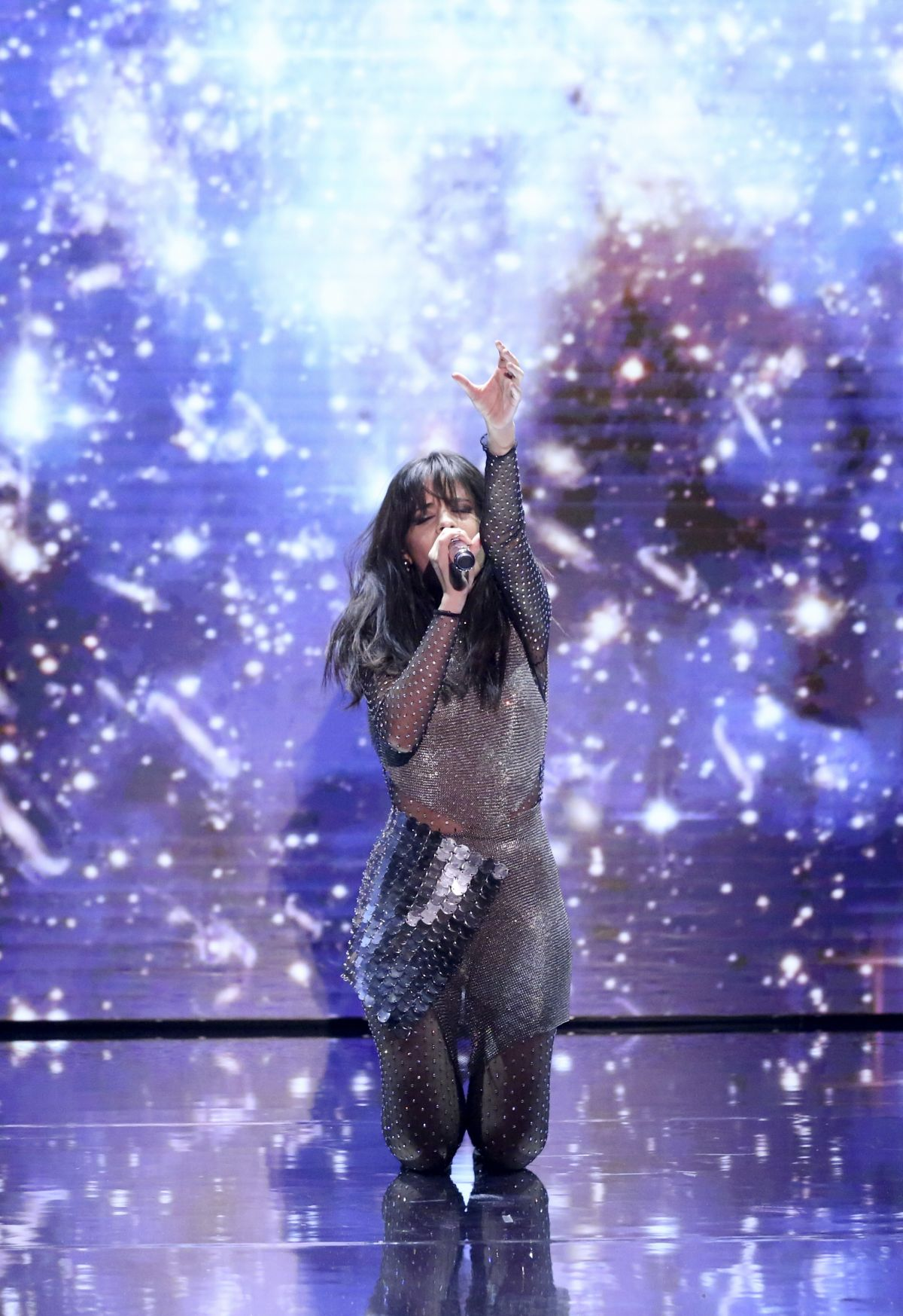 """Camila Cabello Performs """"Never Be The Same"""" on The Tonight"""