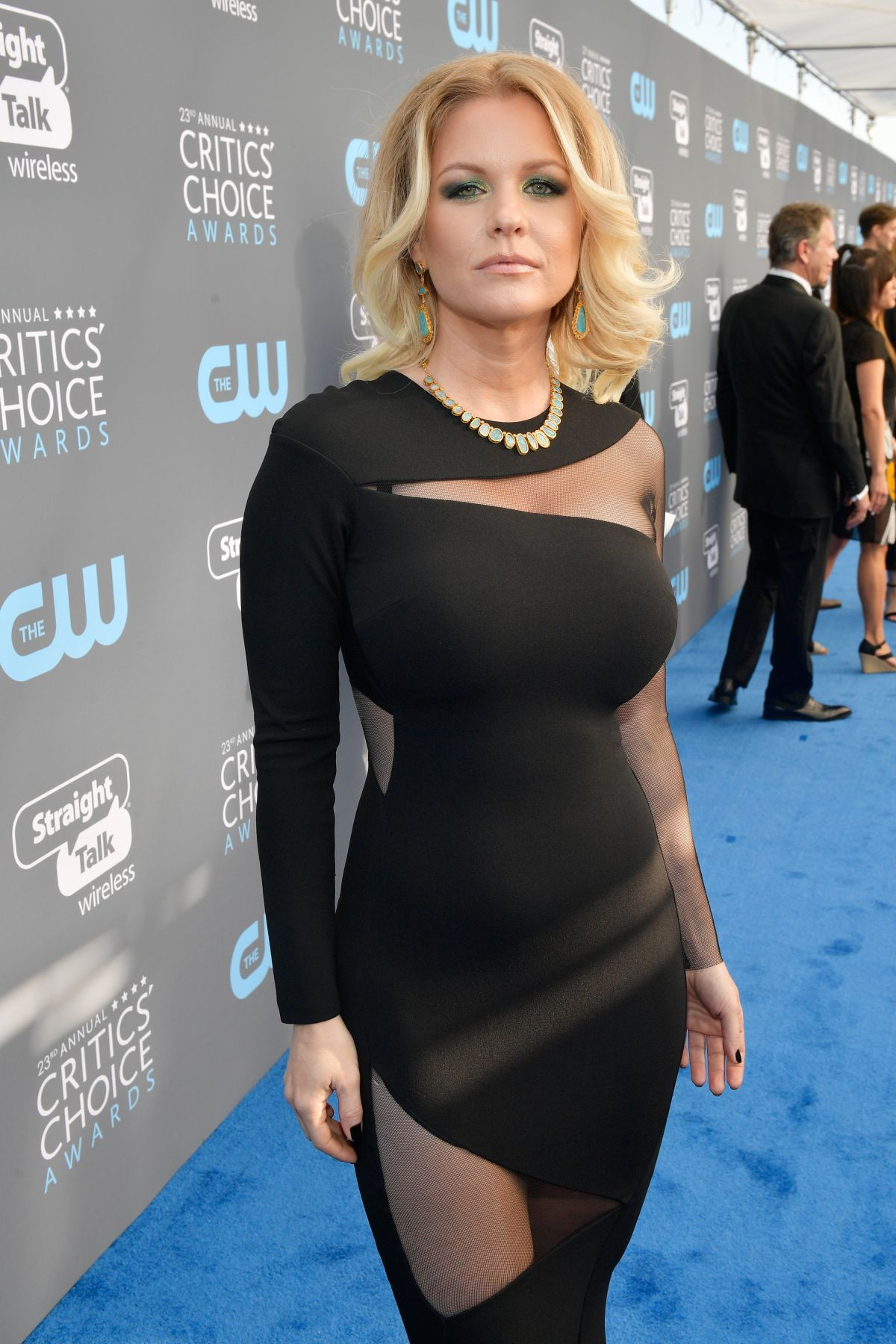 Carrie Keagan At The 23rd Annual Critics Choice Awards In