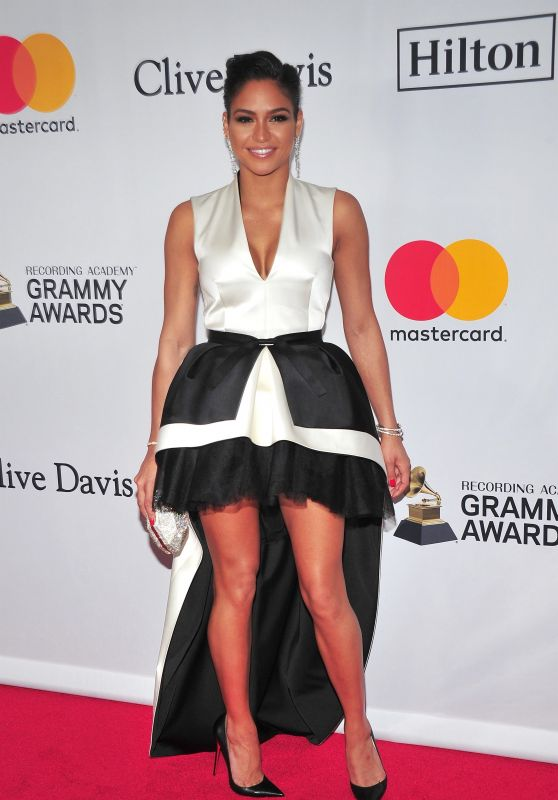 """Cassie At """"Clive Davis and Recording Academy Pre-Grammy Gala"""" NY"""