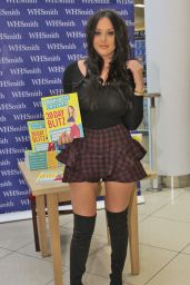 Charlotte Crosby On day two of her book signing in Chester