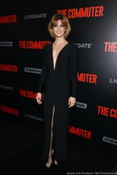 Clara Lago At The Commuter Premiere in New York