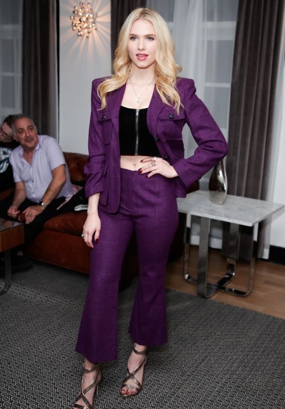 Claudia Lee At Wolk Morais Collection 6 Fashion Show at The Hollywood Roosevelt Hotel in Los Angeles