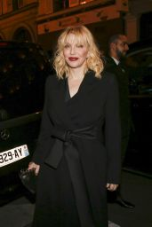 Courtney Love At Yves Saint Laurent night at the Beauty Hotel, Paris Fashion Week