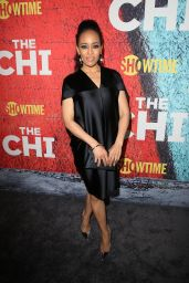 Dawn-Lyen Gardner At The Premiere of The Chi, Los Angeles