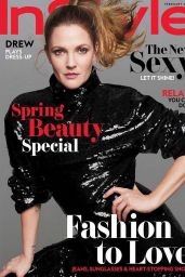 Drew Barrymore - InStyle - February 2018