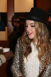 Elizabeth Gillies At Deadline Studio at Sundance Day 2 in Park City, USA