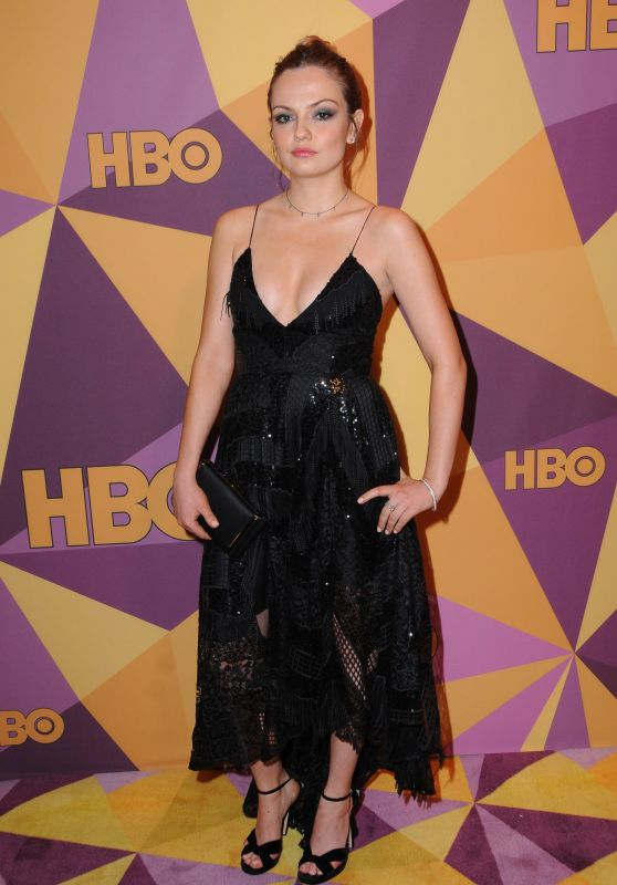 Emily Meade At HBO