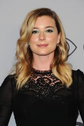 Emily VanCamp At InStyle and Warner Bros Golden Globes After Party in LA