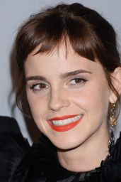 Emma Watson At InStyle and Warner Bros Golden Globes After Party in LA