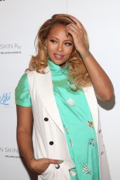 Eva Marcille At Launch of Urban Skin Rx at Target stores, New York City
