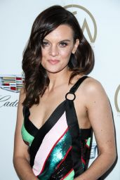 Frankie Shaw At Producers Guild Awards, Arrivals, Los Angeles