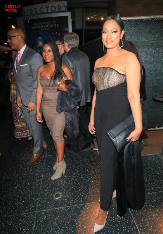 Garcelle Beauvais Outside the Black Panther Premiere in Los Angeles