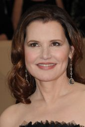 Geena Davis At 24th Annual Screen Actors Guild Awards, Los Angeles