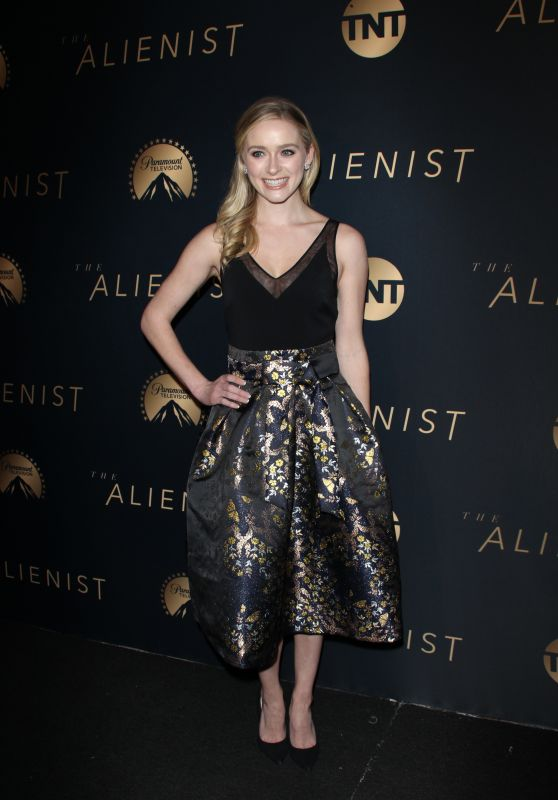 Greer Grammer At The Alienist Premiere in Los Angeles