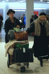 Haley Bennett Spotted at JFK Airport in NYC