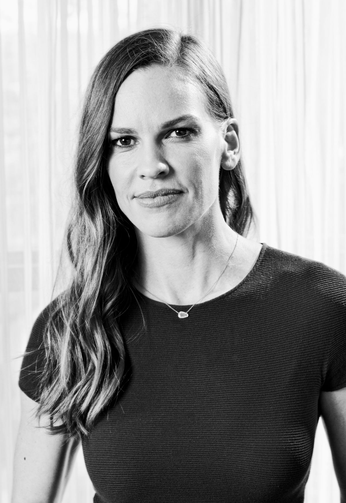 Hilary Swank At The Va...