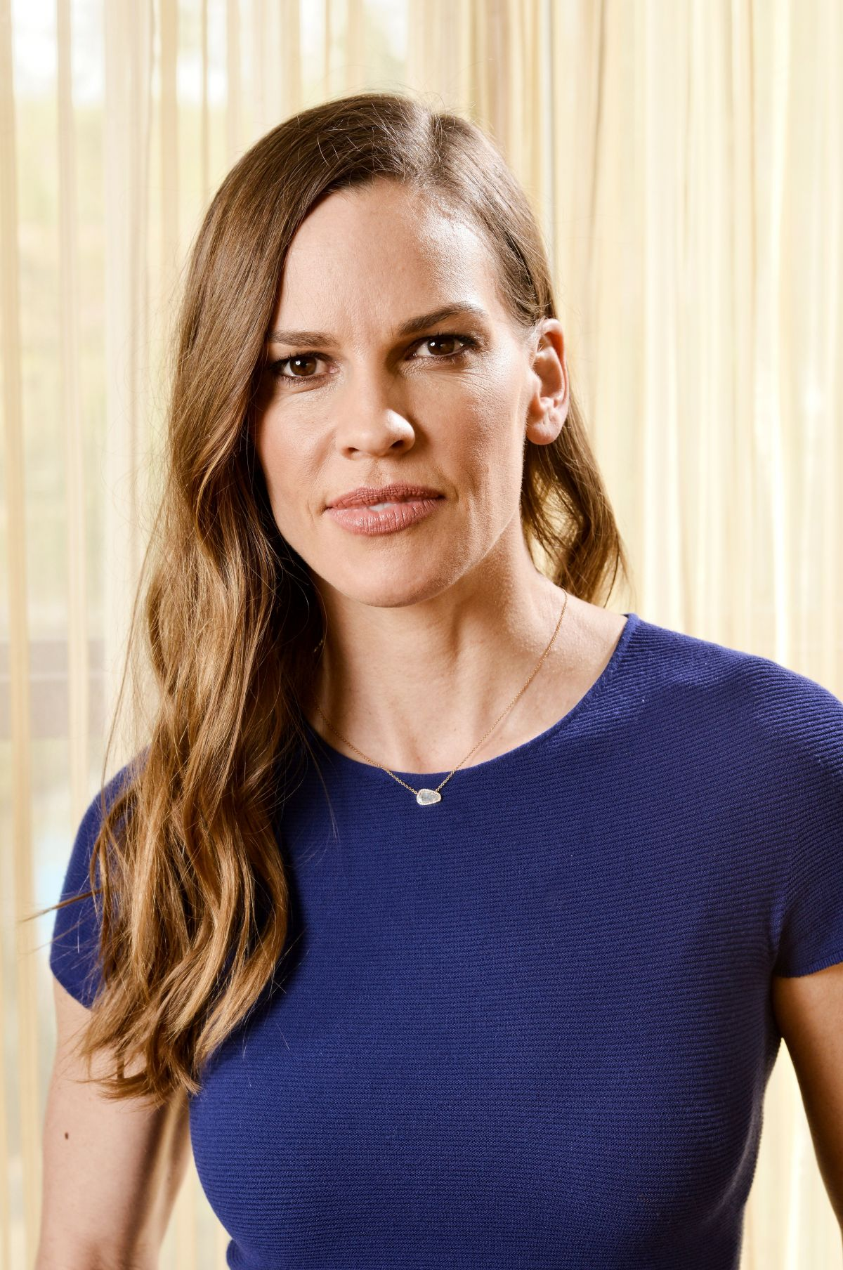 Hilary Swank At The Variety TCA Podcast hosted by Debra ...