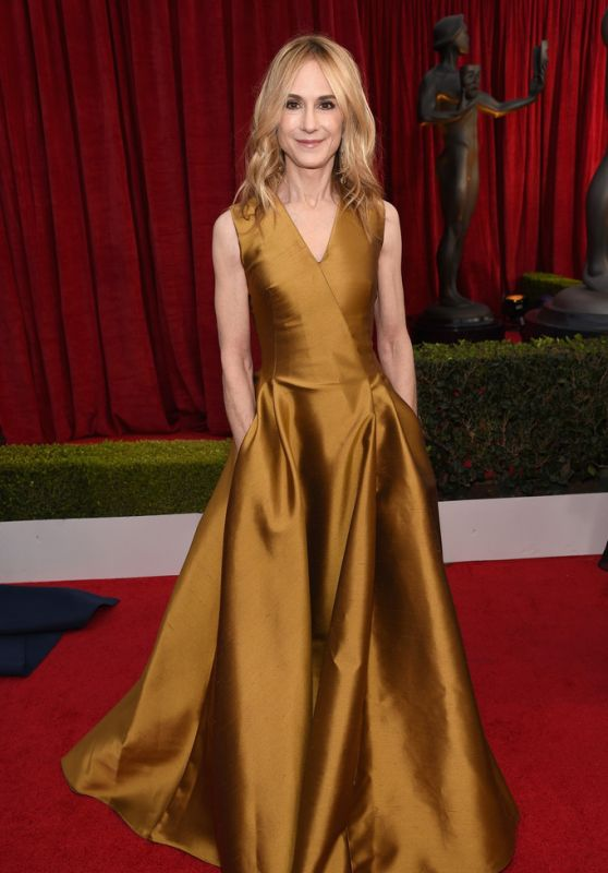 Holly Hunter At 24th Annual Screen Actors Guild Awards in Los Angeles