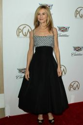 Holly Hunter At 29th Annual Producers Guild Awards in Beverly Hills