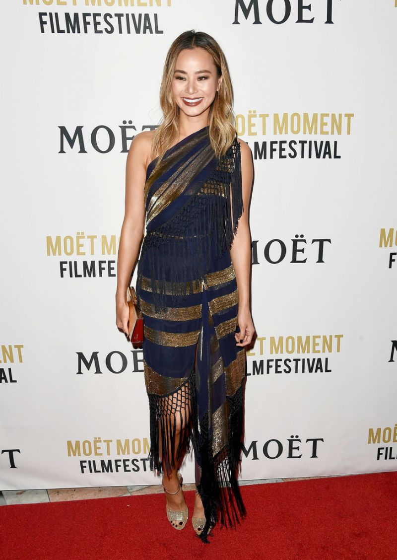 72f20bbfa5 Jamie Chung At 3rd Annual Moet Moment Film Festival in Los Angeles
