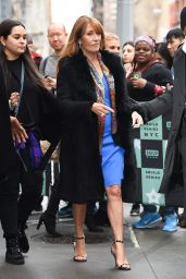 Jane Seymour Stops by the AOL Build Series in New York