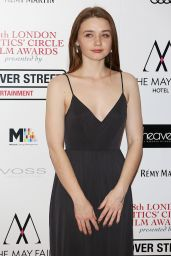 Jessica Barden At 38th London Critic