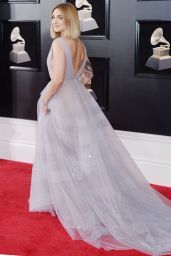 Julia Michaels At 60th Annual Grammy Awards in NYC